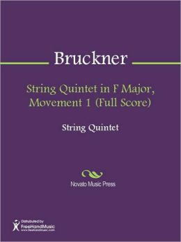 String Quintet in F Major, Movement 1 (Full Score)