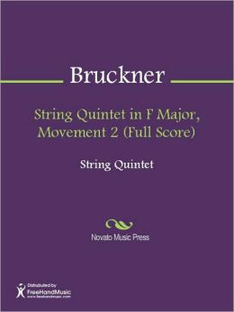 String Quintet in F Major, Movement 2 (Full Score)