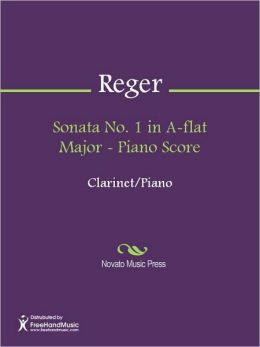 Sonata No. 1 in A-flat Major - Piano Score