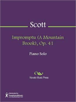 Impromptu (A Mountain Brook), Op. 41