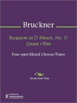 Requiem in D Minor, No. 5: Quam Olim