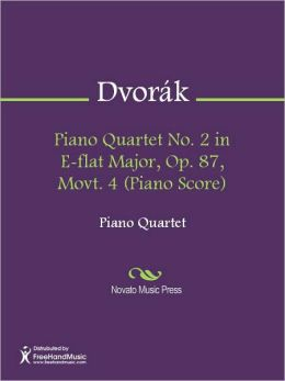 Piano Quartet No. 2 in E-flat Major, Op. 87, Movt. 4 (Piano Score)