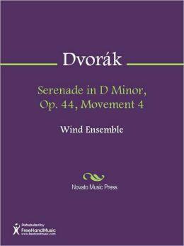 Serenade in D Minor, Op. 44, Movement 4