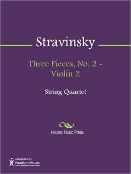Three Pieces, No. 2 - Violin 2