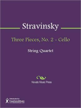 Three Pieces, No. 2 - Cello