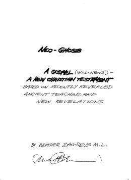 NEO-GNOSIS