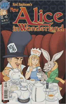 Rod Espinosa's New Alice in Wonderland #3