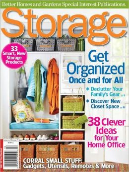 Storage A Better Homes And Gardens Special Interest Magazine By Meredith Corporation