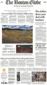 Book Cover Image. Title: The Boston Globe, Author: The New York Times Company