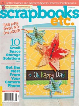 Scrapbooks etc. - August 2012