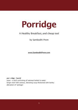 The Porridge Book