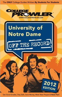 University of Notre Dame 2012