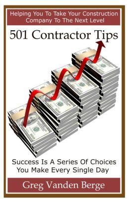 501 Contractor Tips