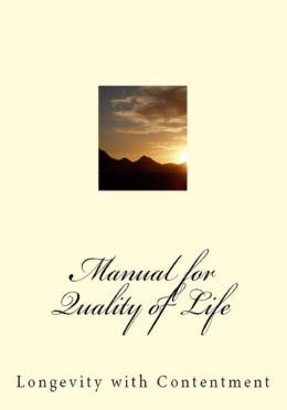 Manual for Quality of Life