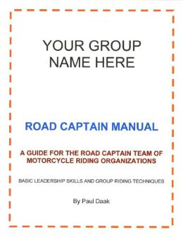 Road Captain Manual