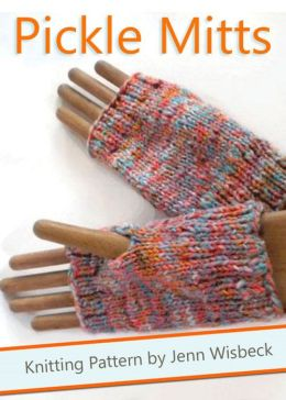 Pickle Mitts Wrist Warmer Knitting Pattern