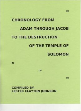 Chronology from Adam through Jacob to the Destruction of the Temple of Solomon
