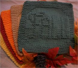 Fall Washcloth Pattern