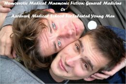 Homoerotic Medical Mnemonic Fiction: General Medicine Or Aardvark Medical School For Talented Young Men