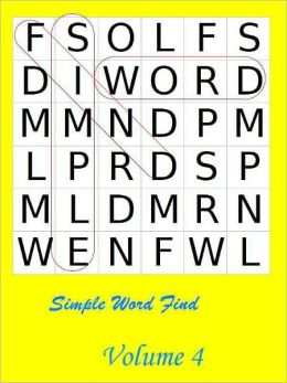 Simple Word Find: Volume 4
