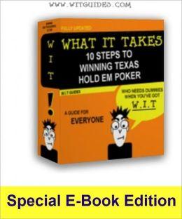 10 Steps to Winning Texas Holdem Poker