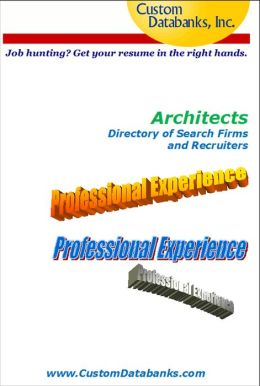 Architects Directory of Search Firms and Recruiters