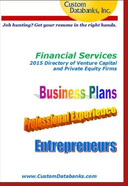 Financial Services Directory of Venture Capital and Private Equity Firms