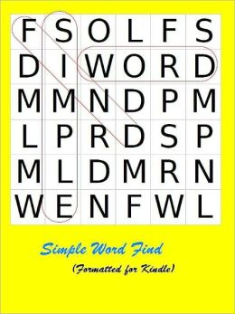 Simple Word Find: Volume 1