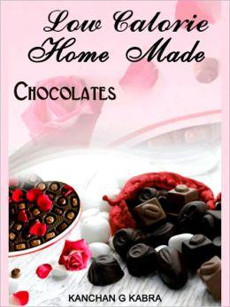 Low Calorie Home Made Chocolates