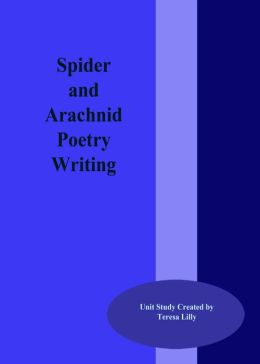 Spider and Arachnid Poetry Writing