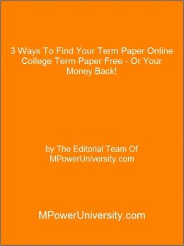 Buy untraceable term paper