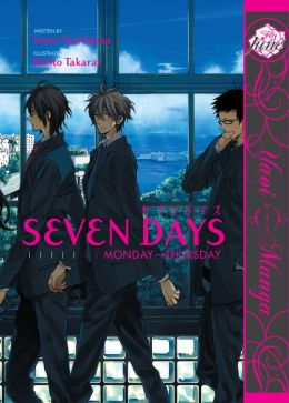 Seven Days: Monday-Thursday (Yaoi Manga) - Nook Color Edition