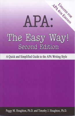 APA: The Easy Way!