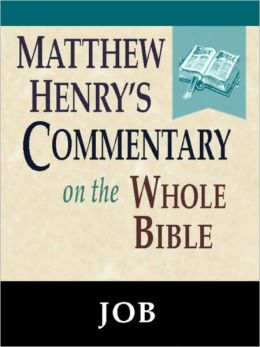 Matthew Henry's Commentary on the Whole Bible-Book of Job