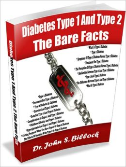 Diabetes Type 1 And Type 2 The Bare Facts