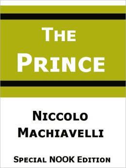 The Prince- Special NOOK Edition- Fully Translated!