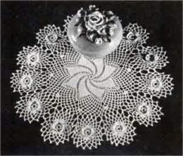 Crocheted Doily Patterns – Doilies to Crochet – Part 2