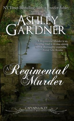 A Regimental Murder (Captain Lacey Regency Mysteries #2)