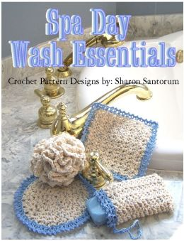 Spa Day Wash Essentials Crochet Pattern