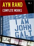 Ayn Rand Objectivist | Objectivism Collection - AYN RAND COMPLETE WORKS Vol. 1 (Special Nook Edition): AYN RAND'S ANTHEM Novel by Ayn Rand Worldwide Bestselling Author of THE FOUNTAINHEAD and ATLAS SHRUGGED (Ayn Rand Objectivist Objectivism Collection) Tea Party Philosophy & Politics NOOKbook