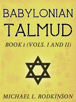 Babylonian Talmud Book 1
