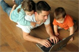 Stay at Home Dads: Finding Work That Fits with Your Kids