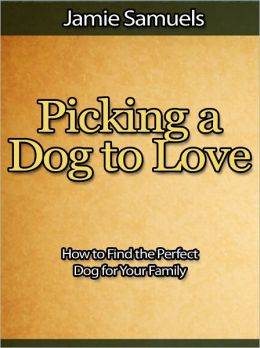 Picking a Dog to Love - How to Find the Perfect Dog for Your Family