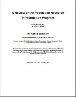 Review of the Population Research Infrastructure Program (PRIP) 2004