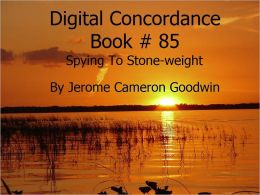 Spying To Stone-weight - Digital Concordance Book 85