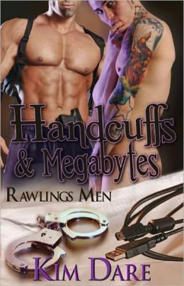 Handcuffs and Megabytes [Rawlings Men Law Enforcement Male/Male Romance]