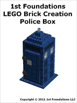 1st Foundations LEGO Brick Creations - Instructions set for a Police Box