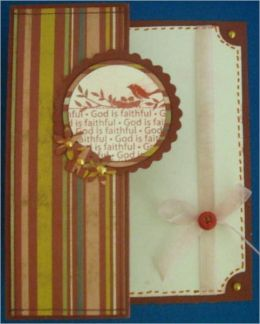 Faux Stitching for Scrapbooking - A How To Guide