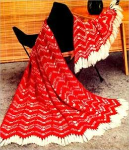 Crochet California Ranch Afghan Pattern - Vintage Afghan Pattern to Crochet