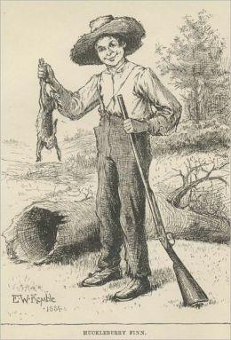 Adventures of Huckleberry Finn Illustrated Edition
